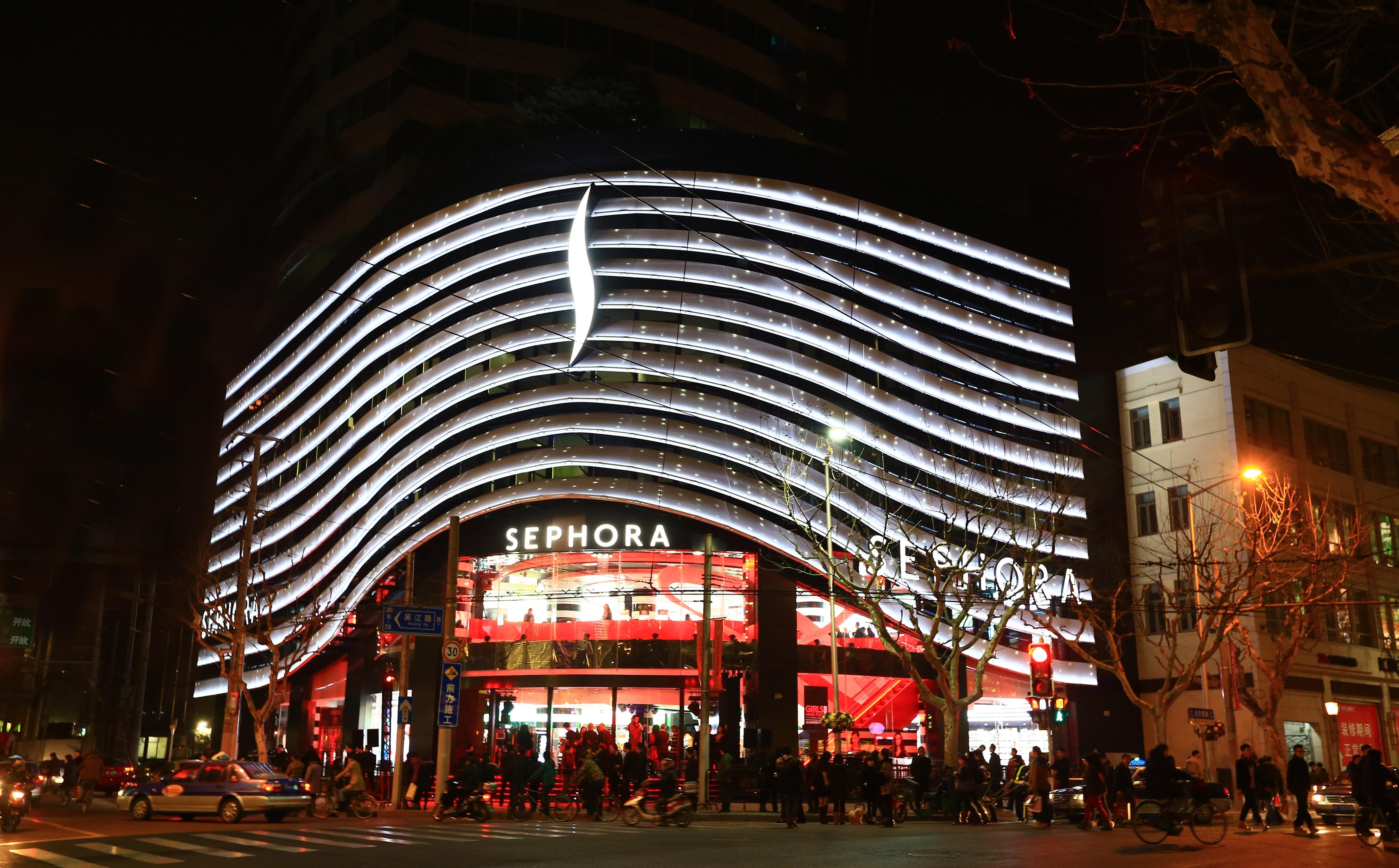 Ouvre Plus ChineDphdroguerie Gros Sephora Flagship En Son kZPiXTOlwu