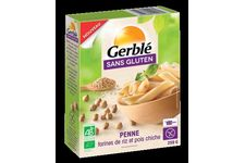 Penne, riz pois chiche de la collection Gerblé Sans Gluten