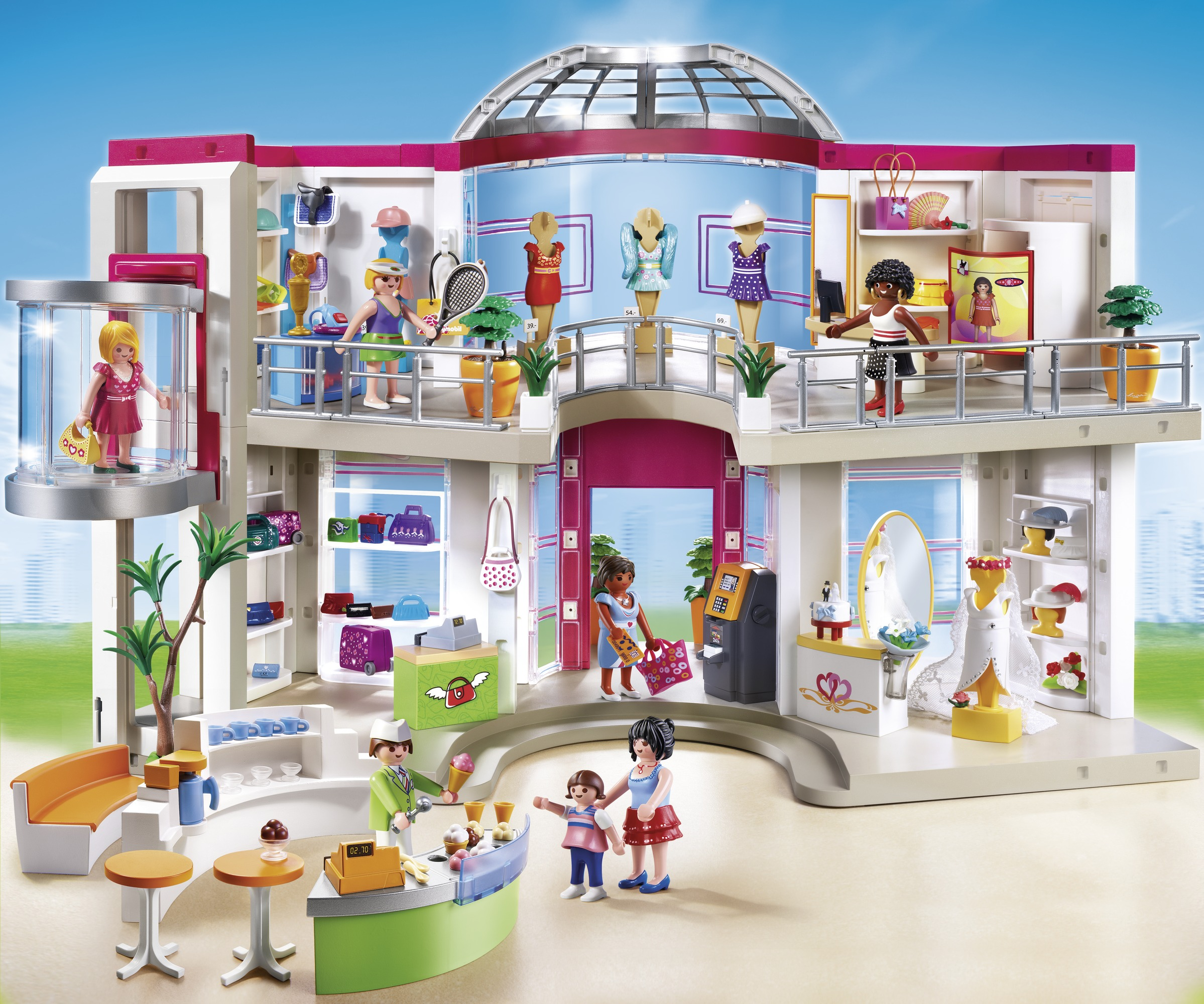 Playmobil explose encore son record loisirs culture for Lego friends salon de coiffure