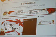 Holiday Season chez Sephora