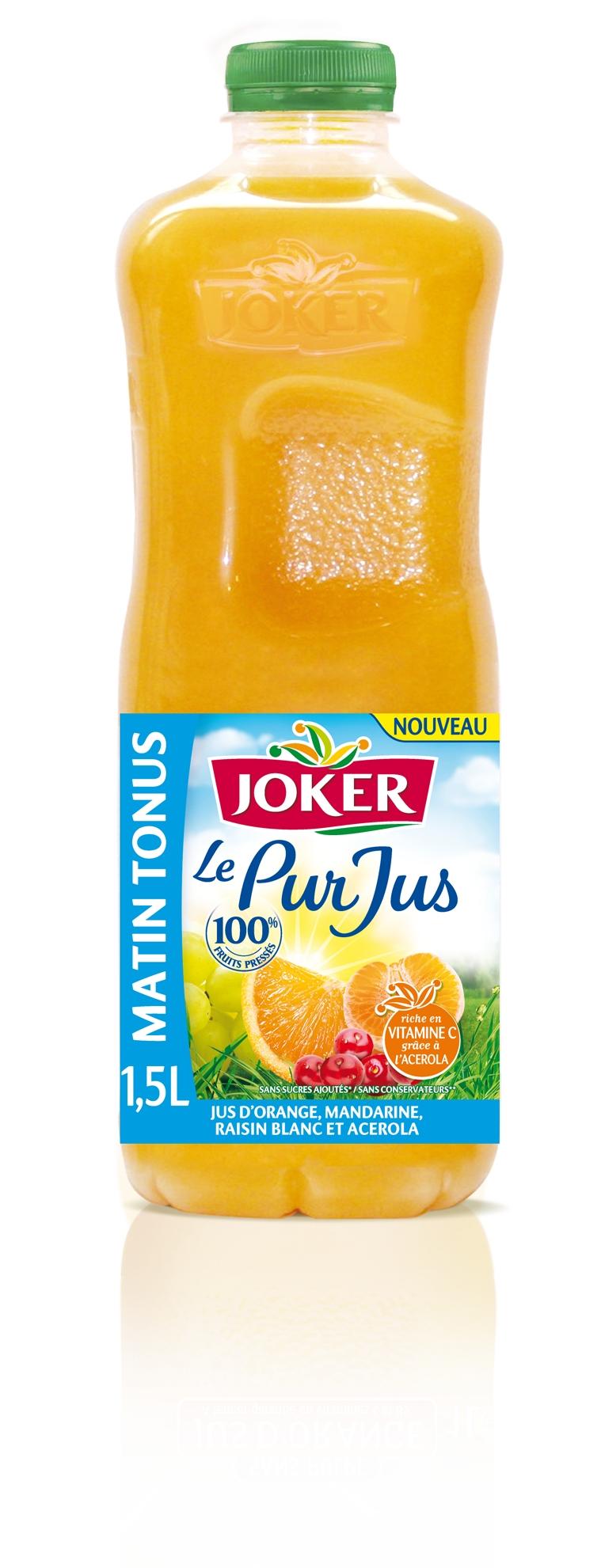 Joker matin tonus un cocktail de jus de fruits pour bien for Cocktail jus de fruit
