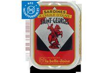 Sardines Saint-Georges à l'huile d'olive La Belle Illoise
