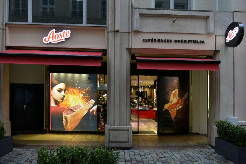 Aoste Ouvre Sa Premi Re Boutique Lyon En