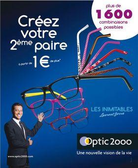 c27b9389058cce Optic 2000 réinvente la 2e paire de lunettes