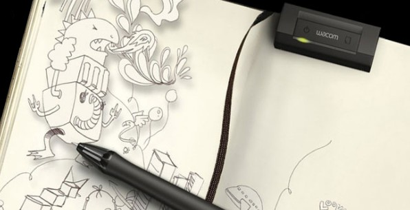 wacom inkling le stylos num rique pour dessiner sur du vrai papier de wacom co ltd. Black Bedroom Furniture Sets. Home Design Ideas