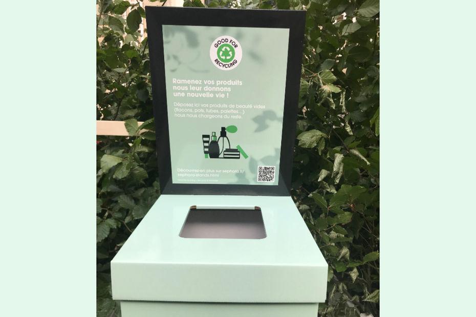 Sephora s'engage pour le recyclage des produits de beauté