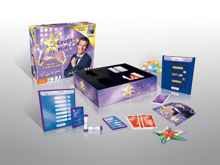 Jeu de soci t les 12 coups de midi de tf1 games de tf1 for Dujardin 41299 chrono bomb night version