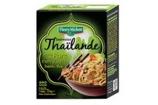 Destination Thaïlande : Emincés de porc curry vert basilic thaï Fleury Michon