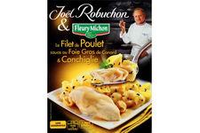 Le Filet de Poulet Sauce au Foie Gras de Canard et Conchiglie Fleury Michon