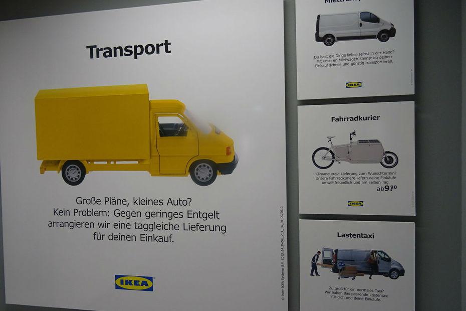 Ikea lance le cliquez et roulez - Transport meuble particulier ...