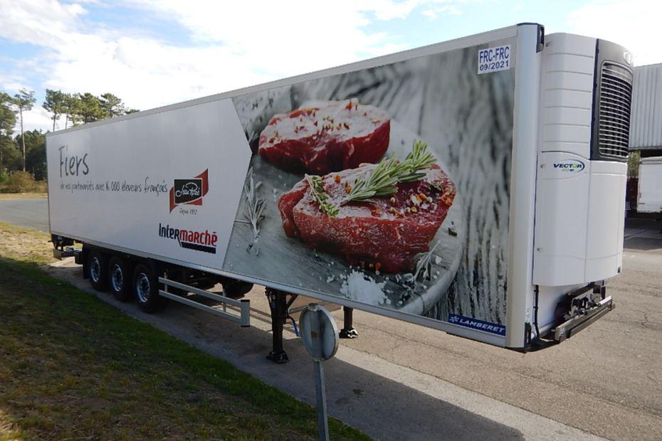 Intermarch modernise sa flotte de camions - Transporter un frigo couche ...