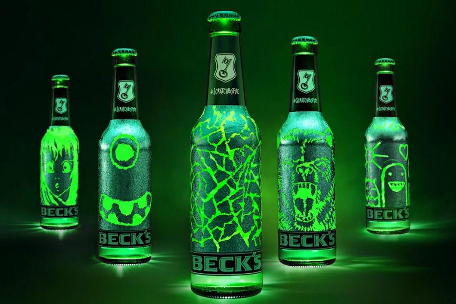 Bevorzugt Beck's invente la bouteille de bière à - Bières, cidres et panachés XP09