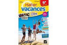 Cahier De Vacances De La 5eme Vers La 4eme De Hatier