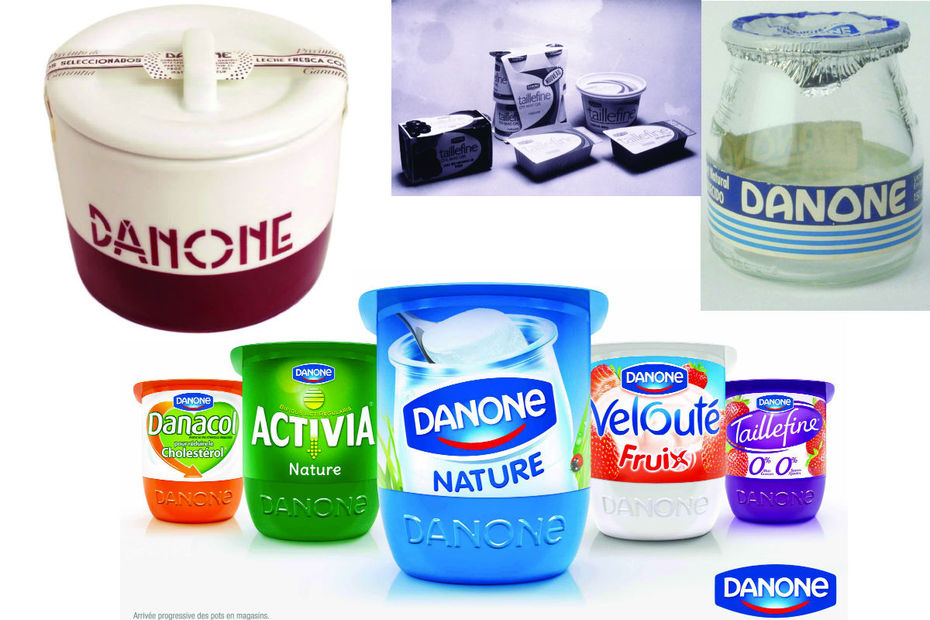 le pot danone souvent imit jamais devanc frais ls et produits surgel s. Black Bedroom Furniture Sets. Home Design Ideas