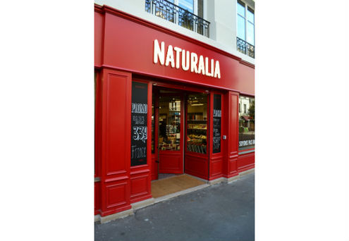 Le magasin Naturalia à Beaubourg (Paris)