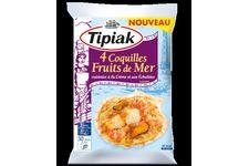 4 Coquilles Fruits de Mer de Tipiak