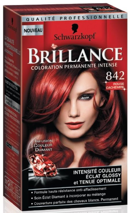 brillance coloration permanente intense de schwarzkopf - Coloration Rouge Sans Ammoniaque