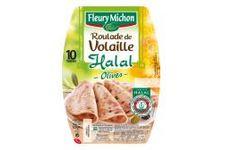 Roulade de volaille olives Halal Fleury Michon