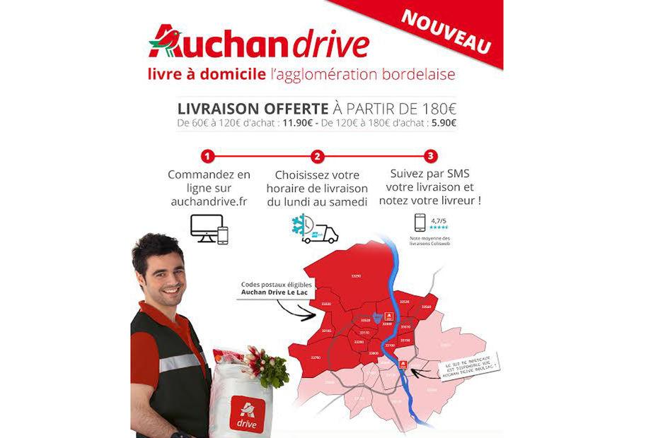 Auchan drive se lance dans la livraison domicile - Auchan livraison a domicile ...