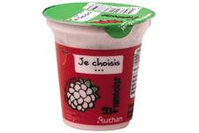Yaourt Framboise Je Choisis d'Auchan