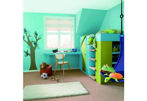 Chambre d enfant les tendances d co suivre bricolage for Chambre d enfant bleu