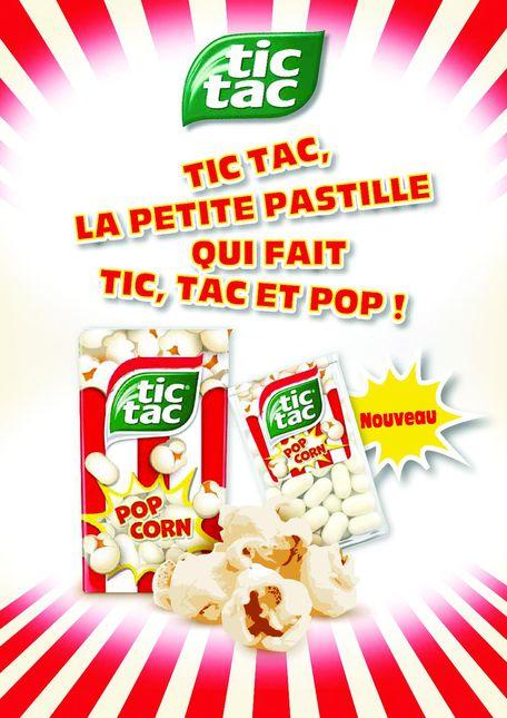 L\'insolite : un Tic Tac au pop-corn ! - Biscuiterie, Confiserie ...