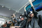 Lors du Mobile World Congress 2016 de Barcelone, Samsung proposait de tester son casque de réalité virtuelle Gear VR en live.