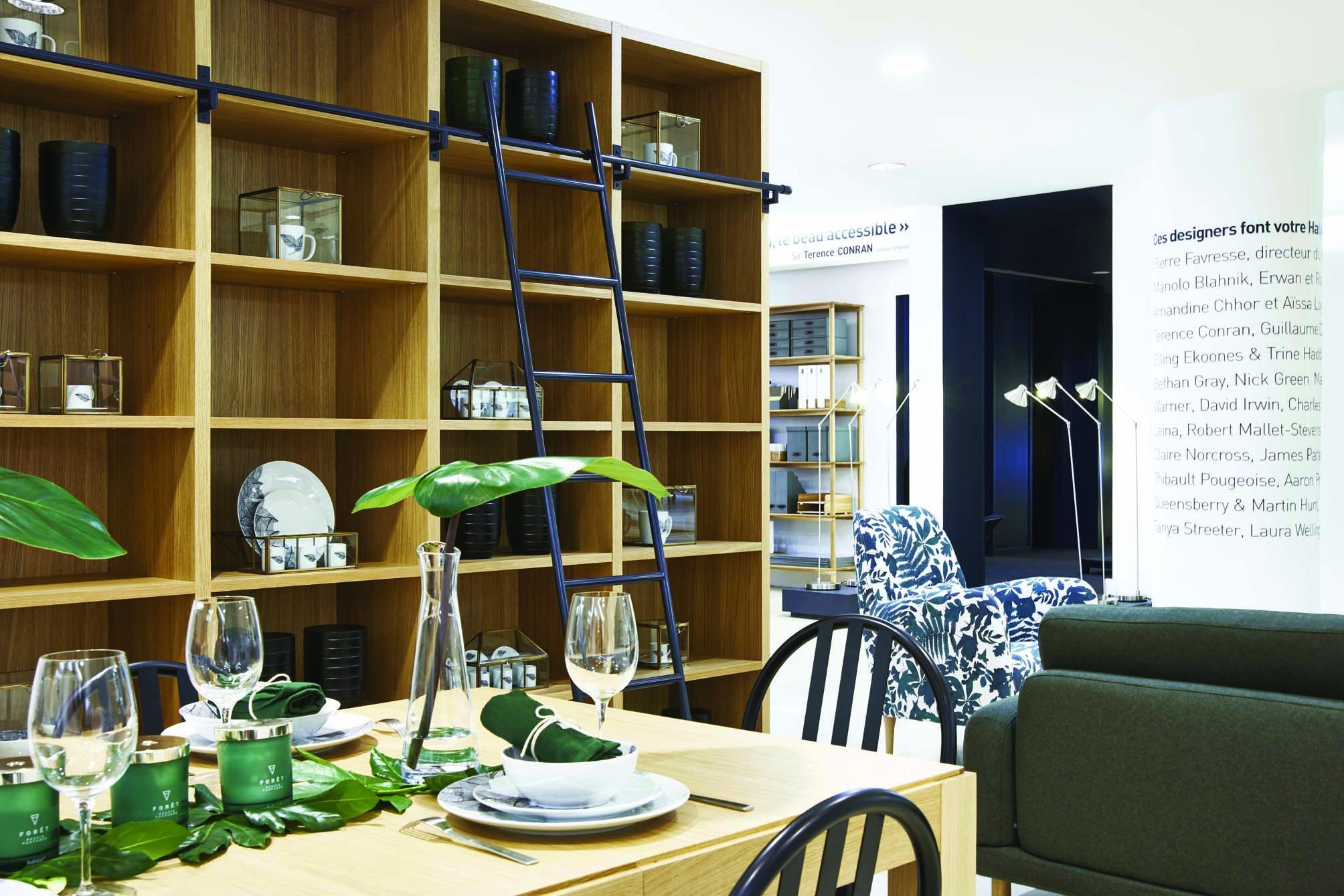 Habitat invente le magasin laboratoire - Magasin habitat paris ...