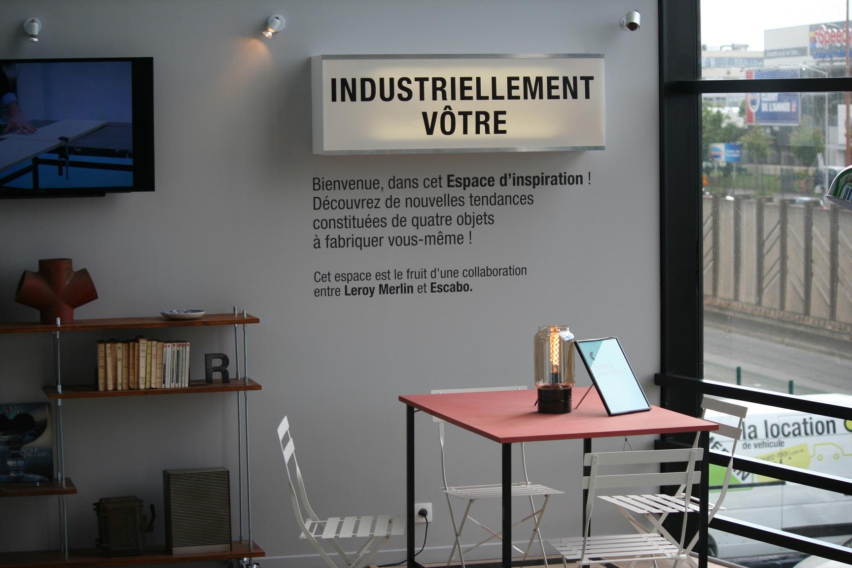 leroy merlin teste le magasin collaboratif bricolage jardinage. Black Bedroom Furniture Sets. Home Design Ideas