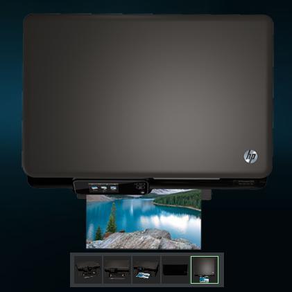 imprimante multifonction tactile photosmart 5520 eaio de hp de hp. Black Bedroom Furniture Sets. Home Design Ideas