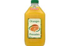 Jus d'Oranges Pressées Andros