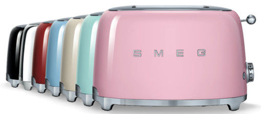 toaster esth tique ann es 50 de smeg de smeg. Black Bedroom Furniture Sets. Home Design Ideas