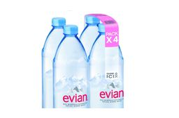 Evian invente le pack d'eau invisible