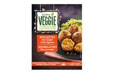 Boulettes au soja et petits légumes de Carrefour Veggie