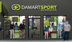 premier magasin damart sport. Black Bedroom Furniture Sets. Home Design Ideas